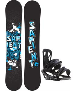 Sapient Trust Wide Snowboard w/ Rome United Bindings