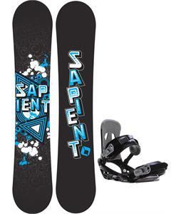 Sapient Trust Wide Snowboard w/ Sapient Stash Bindings
