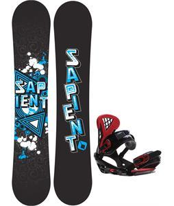 Sapient Trust Wide Snowboard w/ Sapient Wisdom Bindings