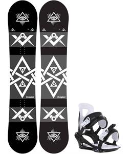 Sapient Mason Snowboard w/ Chamonix Savoy Bindings