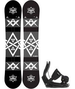 Sapient Mason Snowboard w/ Flow Alpha Bindings