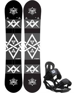 Sapient Mason Snowboard w/ Head NX One Bindings