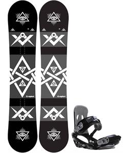 Sapient Mason Snowboard w/ Sapient Stash Bindings