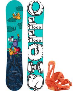Burton Genie Blem Snowboard w/ Avalanche Serenity Bindings