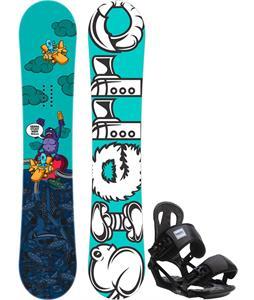 Sierra Stunt Wide Snowboard   w/ Head NX One Bindings