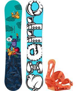 Burton Genie Blem Snowboard w/ Chamonix Bellevue Bindings