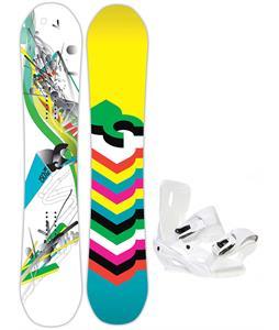 DC Ply Snowboard w/ Sapient Zeta Bindings