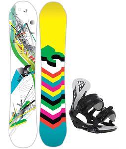 DC Ply Snowboard w/ Chamonix Bellevue Bindings