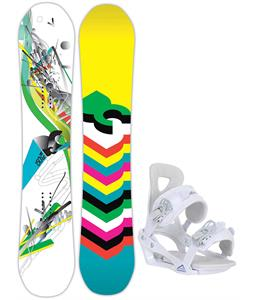 DC Ply Snowboard w/ Chamonix Brevant Bindings