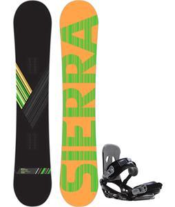 Sierra Reverse Crew Snowboard w/ Sapient Stash Bindings