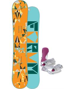 Forum Craft Snowboard w/ Avalanche Serenity Bindings