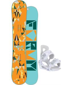Forum Craft Snowboard w/ Chamonix Brevant Bindings