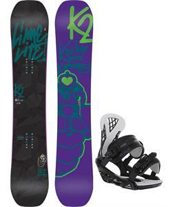 K2 Lime Lite Snowboard w/ Chamonix Bellevue Bindings