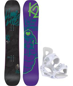 K2 Lime Lite Snowboard w/ Chamonix Brevant Bindings