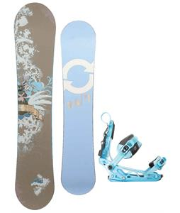 Twenty Four/Seven Fawn Snowboard w/ K2 Cinch Tryst Bindings