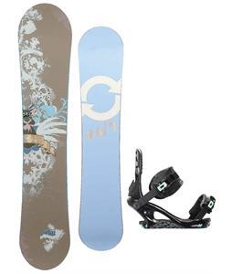 Twenty Four/Seven Fawn Snowboard w/ K2 Yeah Yeah Bindings