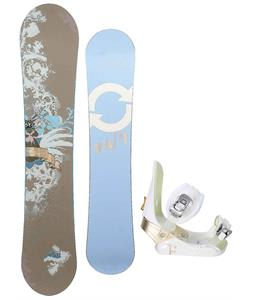 Twenty Four/Seven Fawn Snowboard w/ Morrow Lotus Bindings