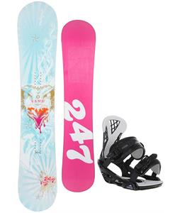 Twenty Four/Seven Fawn Snowboard w/ Chamonix Bellevue Bindings