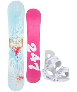 Twenty Four/Seven Fawn Snowboard w/ Chamonix Brevant Bindings