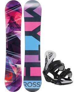 Rossignol Myth Amptek Snowboard w/ Chamonix Bellevue Bindings