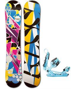 Rossignol Justice Amptek Snowboard w/ K2 Cinch Tryst Bindings