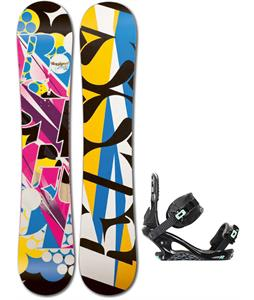 Rossignol Justice Amptek Snowboard w/ K2 Yeah Yeah Bindings