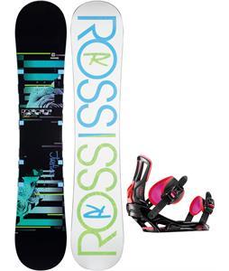Rossignol Justice Amptek Snowboard w/ Rossignol Myth Bindings