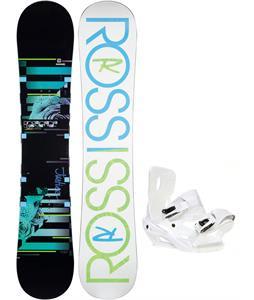 Rossignol Justice Amptek Snowboard w/ Sapient Zeta Bindings