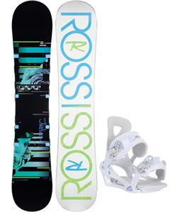 Rossignol Justice Amptek Snowboard w/ Chamonix Brevant Bindings