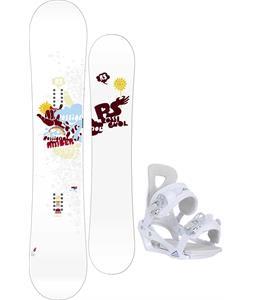 Rossignol Amber Snowboard w/ Chamonix Brevant Bindings