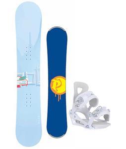 Palmer Touch Snowboard w/ Chamonix Brevant Bindings