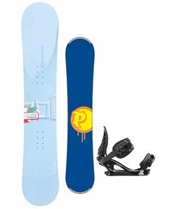 Palmer Touch Snowboard w/ K2 Charm Bindings