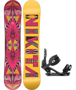 Nikita Sideway Sista Snowboard w/ K2 Yeah Yeah Bindings