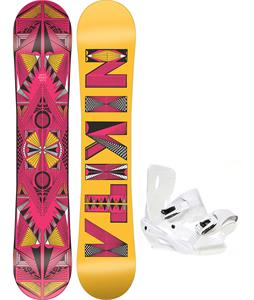 Nikita Sideway Sista Snowboard w/ Sapient Zeta Bindings