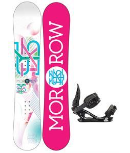 Morrow Sky Snowboard w/ K2 Charm Bindings