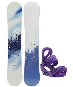 M3 Free Snowboard w/ Burton Stiletto Bindings