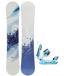 M3 Free Snowboard w/ K2 Cinch Tryst Bindings