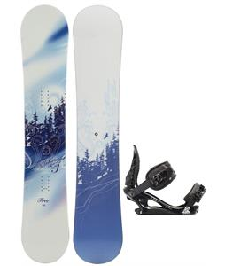 M3 Free Snowboard w/ K2 Charm Bindings