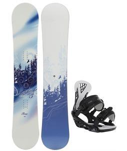 M3 Free Snowboard w/ Chamonix Bellevue Bindings