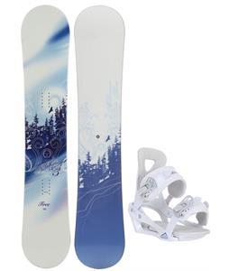 M3 Free Snowboard w/ Chamonix Brevant Bindings