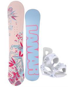 Lamar Merlot Snowboard w/ Chamonix Brevant Bindings