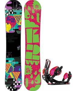 K2 Vavavoom Rocker Snowboard w/ Rossignol Myth Bindings