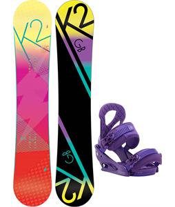 K2 GB Pop Snowboard w/ Burton Stiletto Bindings