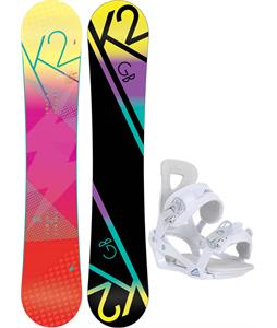 K2 GB Pop Snowboard w/ Chamonix Brevant Bindings