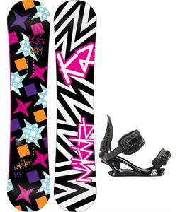K2 Vavavoom Rocker Snowboard w/ K2 Charm Bindings
