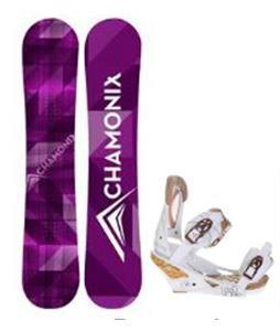 Chamonix Frost Snowboard w/ Burton Escapade Bindings