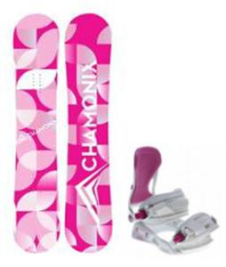 Chamonix Quartz Snowboard w/ Avalanche Serenity Bindings