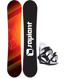 Sapient Zeus Jr Snowboard w/ Chamonix Savoy Bindings