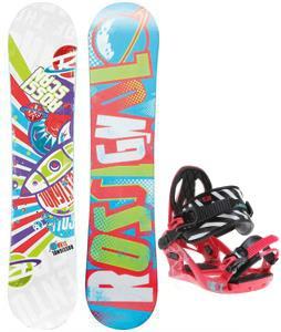 Rossignol Scan Amptek Smalls Snowboard w/ K2 Kat Bindings