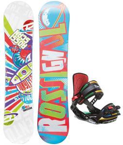 Rossignol Scan Amptek Smalls Snowboard w/ Rossignol Rookie Bindings